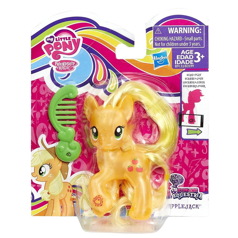 Жемчужная игрушка пони Эпплджек My Little Pony Explore ...