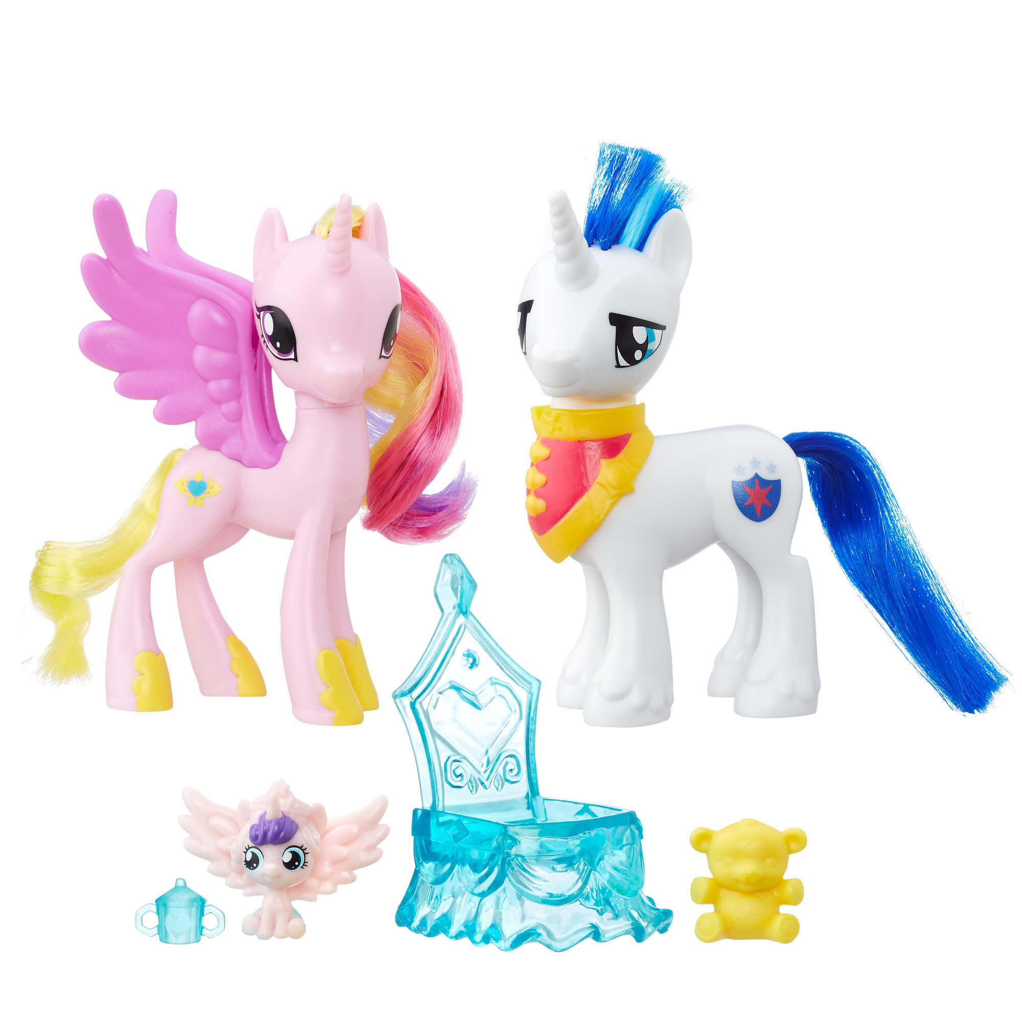 Игровой набор Принцесса Каденс и Шайнинг Армор Пони ...