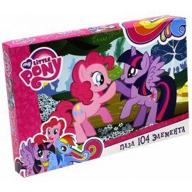 """Пазл """"Пинки Пай и Твайлайт Спаркл"""" My Little Pony, 104 элемента, фото 1"""