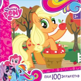 "Пазл ""Эплджек"" My Little Pony, 100 элементов, фото 1"