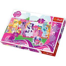 Набор пазлов My Little Pony, 100 деталей (меняют цвет), фото 1