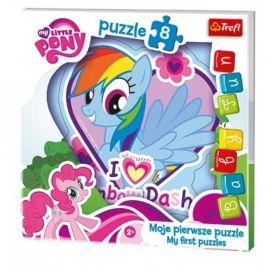 Пазл для малышей I love Rainbow Dash, 8 элементов, фото 1