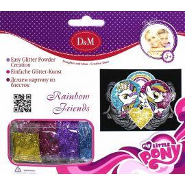 "Картина из блесток ""Мои Маленькие Пони"" - Rainbow Friends, фото 1"