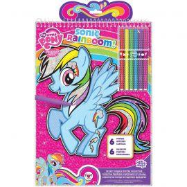 """Постеры-раскраски """"Пони Радуга"""" My Little Pony, фото 1"""