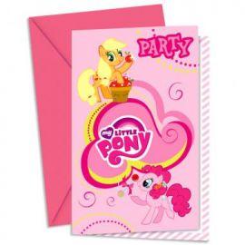 Приглашения в конвертах My Little Pony, фото 1