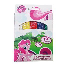 """Восковой пластилин """"Мои Маленькие Пони"""", 10 цветов, фото 1"""