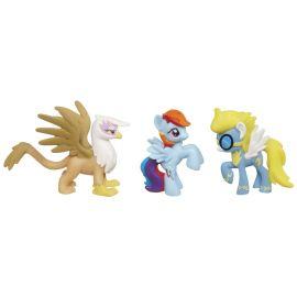 Набор мини-фигурок Gilda the Griffon, Rainbow Dash, Wonder Bolts, фото 1