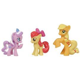 Мини-набор My Little Pony - Даймонд Тиара, Эппл Блум, Эплджек, фото 1