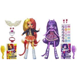 Куклы My Little Pony Equestria Girls - Sunset Shimmer и Twilight Sparkle, фото 1