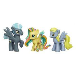 Набор мини-фигурок Fluttershy, Thunderlane и Derpy Hooves, фото 1