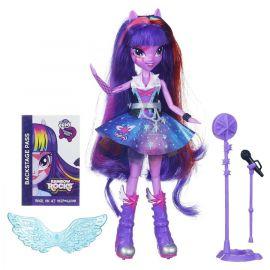 "Кукла Rainbow Rocks ""Девушки Эквестрии"" - Поющая Твайлайт Спаркл, фото 1"