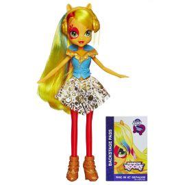 "Кукла ""Rainbow Rocks"" Девушки Эквестрии - Эпплджек с наушниками, фото 1"