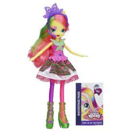 "Кукла Equestria Girls ""Rainbow Rocks Neon"" - Флатершай, фото 1"
