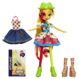 "Кукла ""Rainbow Rocks"" Девушки Эквестрии - Эплджек, фото 1"