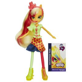 "Кукла Equestria Girls ""Rainbow Rocks Neon"" - Applejack, фото 1"