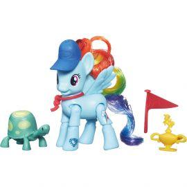 """Игровой набор Explore Equestria """"Рейнбоу Дэш пони с подвижными ножками"""", фото 1"""