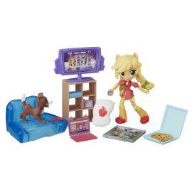"""Игровой набор с куклой Эпплджек Minis """"Пижамная вечеринка"""", фото 1"""