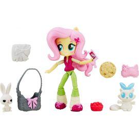"""Игровой набор с мини-куклой Флаттершай """"Пижамная вечеринка"""", фото 1"""