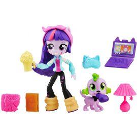 """Игровой набор с мини-куклой Твайлайт Спаркл """"Пижамная вечеринка"""", фото 1"""