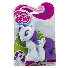 Мягкая игрушка-брелок My Little Pony Рарити, 12 см, фото 1