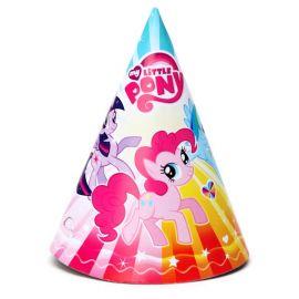 Набор праздничных колпаков My Little Pony, 6 шт., фото 1