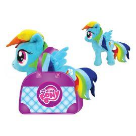 Мягкая игрушка пони My Little Pony Рэйнбоу Дэш в сумочке, 20 см, фото 1