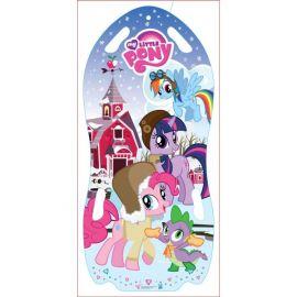 Ледянка-коврик My little Pony (двухместная), 122 см., фото 1