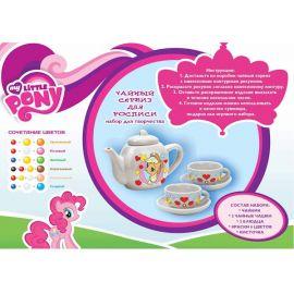 Чайный сервиз для росписи My Little Pony, фото 1