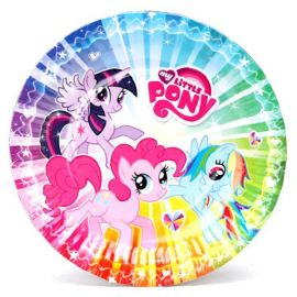 Тарелки My Little Pony, 6 штук, фото 1