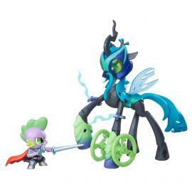 """Набор игрушек пони """"Стражи гармонии"""" - Королева Кризалис против Спайка, фото 1"""