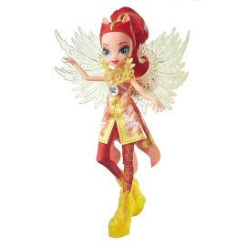 Кукла Сансет Шиммер с крыльями делюкс в праздничном наряде Легенда вечнозеленого леса, фото 1
