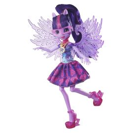 Кукла Твайлайт Спаркл с крыльями делюкс в праздничном наряде Легенда вечнозеленого леса, фото 1