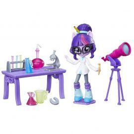 Игровой набор с мини-куклой Эквестрия Герлз Лаборатория Твайлайт Спаркл, фото 1