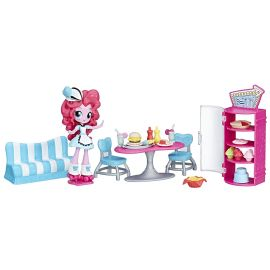 Кафе Пинки Пай с мини куклой Эквестрия Герлз, фото 1