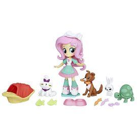 Игровой набор Эквестрия Герлз Мини с куклой Флаттершай Pet Spa, фото 1