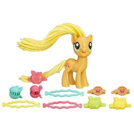 Игровой набор Пони с праздничными прическами Эпплджек, фото 1