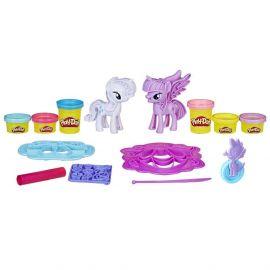Игровой набор Play-Doh Твайлайт Спаркл и Рарити, фото 1