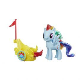 Игровой набор Май Литл Пони Friendship is Magic Радуга Дэш в карете, фото 1