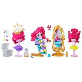 """Мини-кукла Пинки Пай """"Девушки Эквестрии"""" Пижамная вечеринка - Салон красоты, фото 1"""