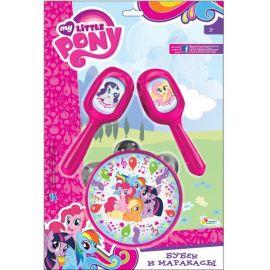Набор музыкальных инструментов My Little Pony - Бубен и маракасы, фото 1
